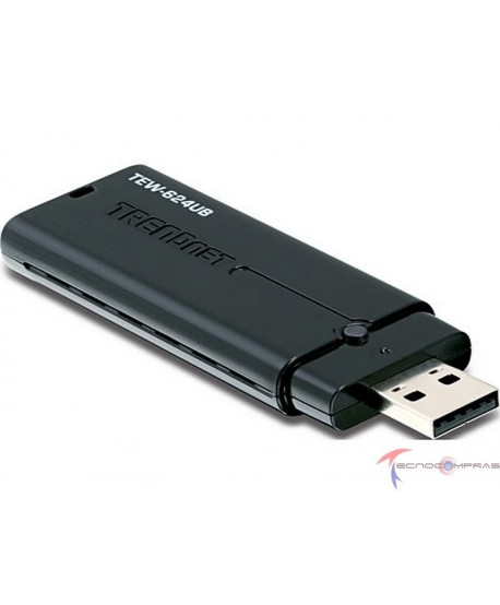 Conectividad inalambrica TRENDNET TEW-624UB 300Mbps Wireless N USB Adapter