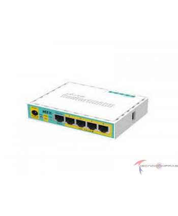 Routers MIKROTIK hEX PoE...