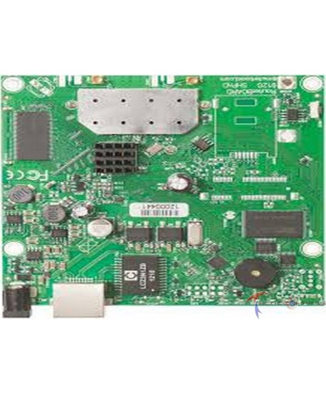 RouterBOARD MIKROTIK RB911G-2HPnD 600Mhz CPU 32MB RAM 1xGigabit Ethernet onboard 2 4Ghz wireless RouterOS L3