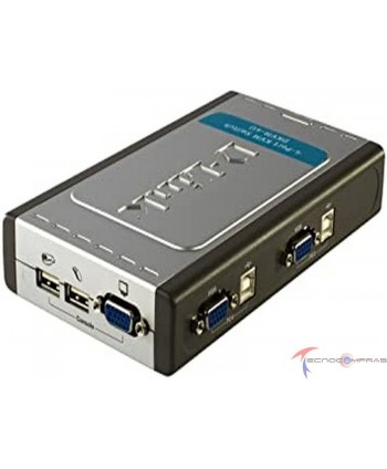 Switchs DLINK DKVM-4U El...