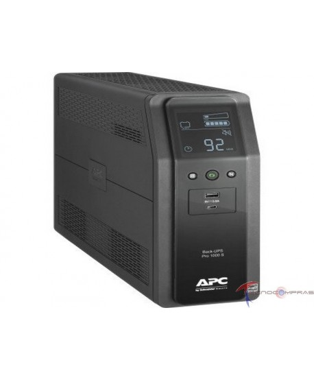 Back ups linea interactiva APC BR1100M2-LM Back ups pro br 1100va 10 outlets 2 usb charging ports avr lcd interface lam