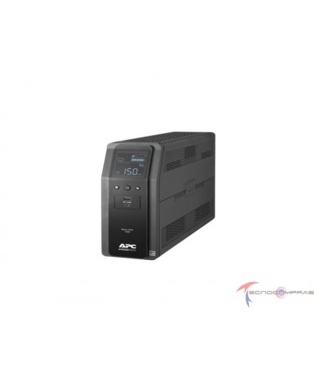 Back ups linea interactiva APC BR1500M2-LM Back ups pro br 1500va 10 outlets 2 usb charging ports avr lcd interface lam