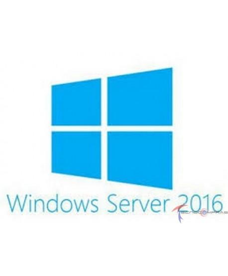 Licenciamiento microsoft Hp servidores P00487-071 MS LICENCIA WINDOWS SERVER 2016 STANDARD EDITION NOTA NO INCLUYE CALLS DE ACC
