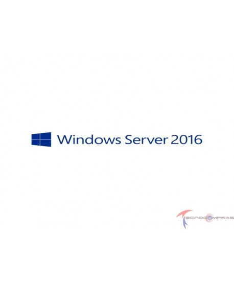 Licenciamiento microsoft Hp servidores 871177-DN1 MS WS 2016 License - 5 user CALs - Multilingual - Americas
