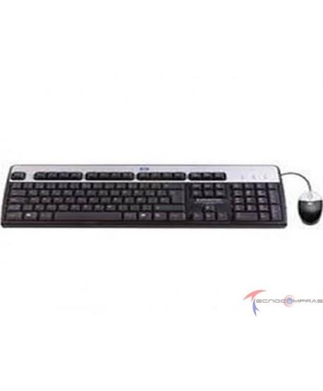 Servidor hp proliant dl360 lff gen10 Hp servidores 631341-B21 Combo Teclado y Mouse HPE USB - Teclado en Ingles