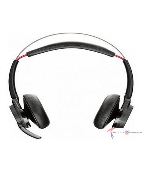 Adaptadores y diademas usb Plantronics-Poly 202652-03 Sistema De Auricular Estereo Con Bluetooth Sin Soporte Incluye Funda De E
