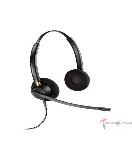 Diademas call center Plantronics-Poly 203192-01 Poly hw520d