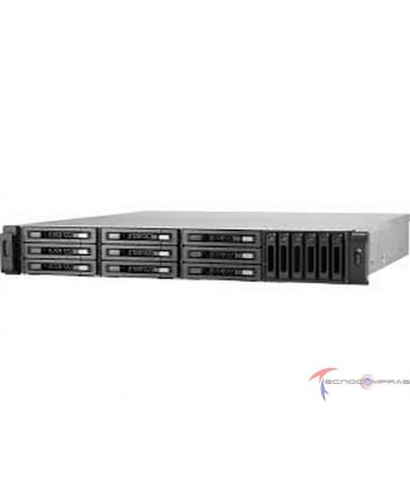 Enterprise ZFS NAS Qnap TVS-EC1580MU-SAS-RP R2 QNAP TVS EC1580MU SAS RP 8GE R2 US QNAP 15 bay 10GbE NAS and iSCS I IP SAN 3 5 x