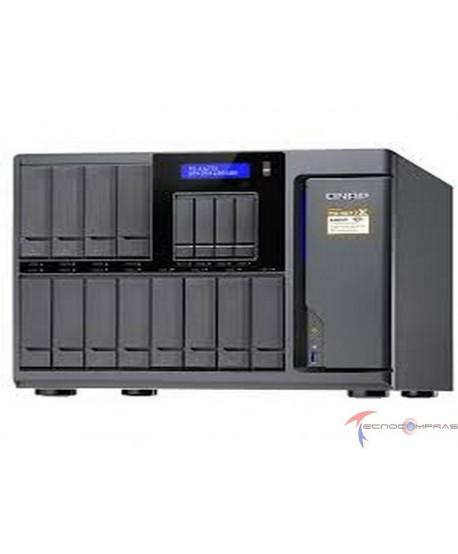 Enterprise NAS Qnap TS-1677X Qnap TS 1677X 1700 16G US 12 4 Bay High Capacity 10GbE iSCSI NAS AMD Ryzen 7 1700 8 core 3 0GHz 16