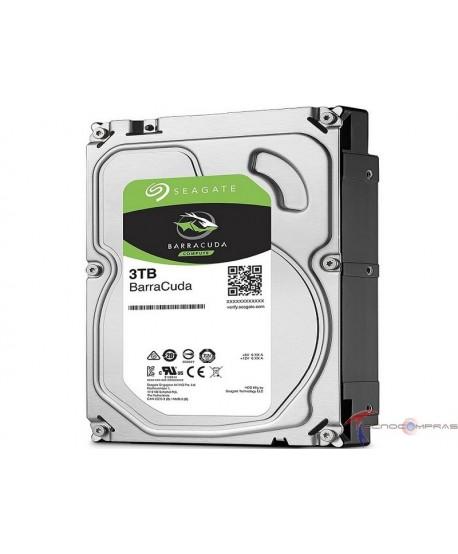 Barracuda disco curo Seagate ST3000DM007 Unidad de disco duro BarraCuda de 3 TB 3 TB 256 MB SATA de 6 Gb/s