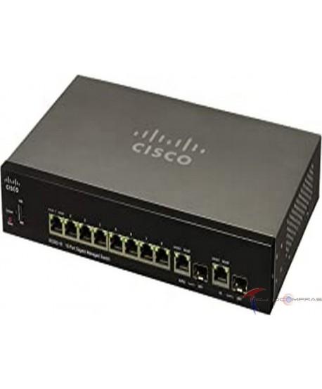 Swtich Cisco Sb SG350-10-K9-NA Cisco SG350-10 10-port Gigabit Managed Switch