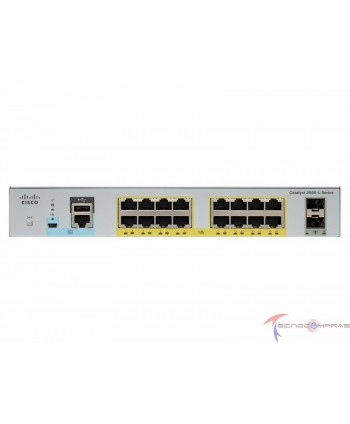 Swtich Cisco WS C2960L 16PS...