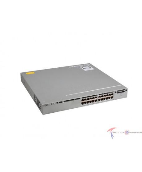 Swtich Cisco WS C3850 24T E Cisco Catalyst 3850 24 Port Data IP Services