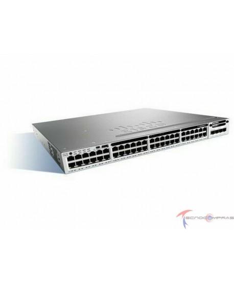Swtich Cisco WS C3850 48T L Cisco Catalyst 3850 48 Port Data LAN Base