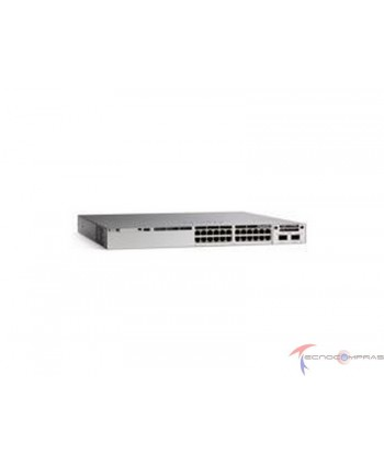 Swtich Cisco C9300L 24P 4G...